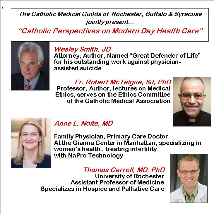 Catholic Medical Conference Speakers