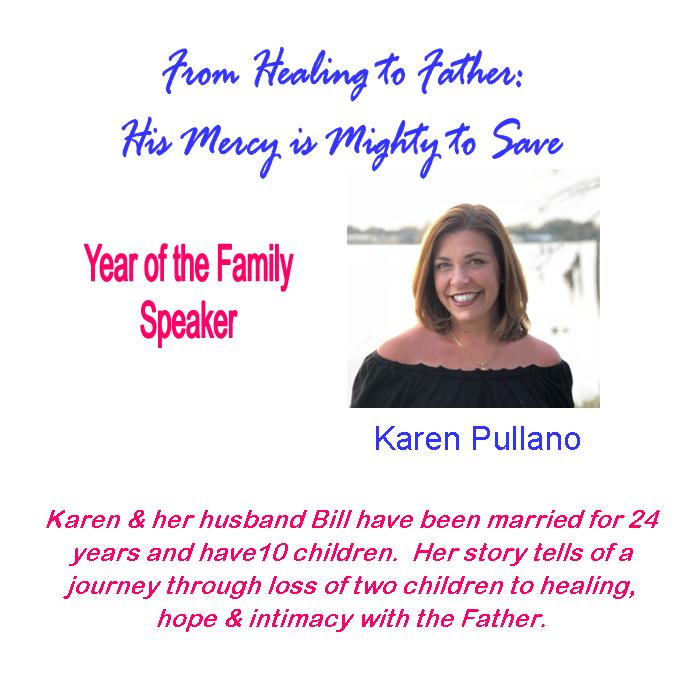 Karen Pullano 2018 Year of the Family Speaker