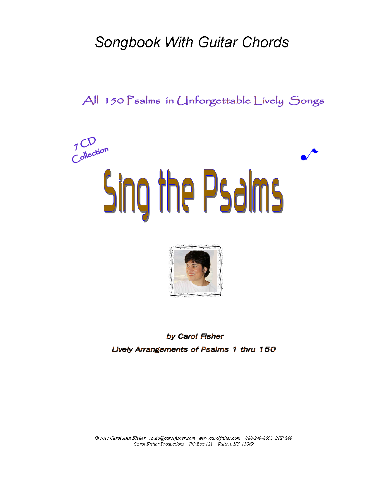 Sing the Psalms Songbook with Easy Guitar Chords