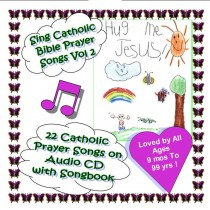 Sing Catholic Bible Prayer Songs Vol 2 Hug Me Jesus