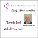 Dr. John Acquaviva, Love the Lord with all your Body